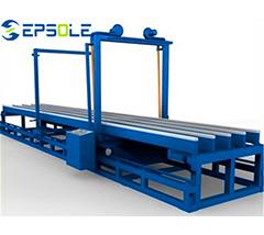 Widely used EPS foam cutting machine