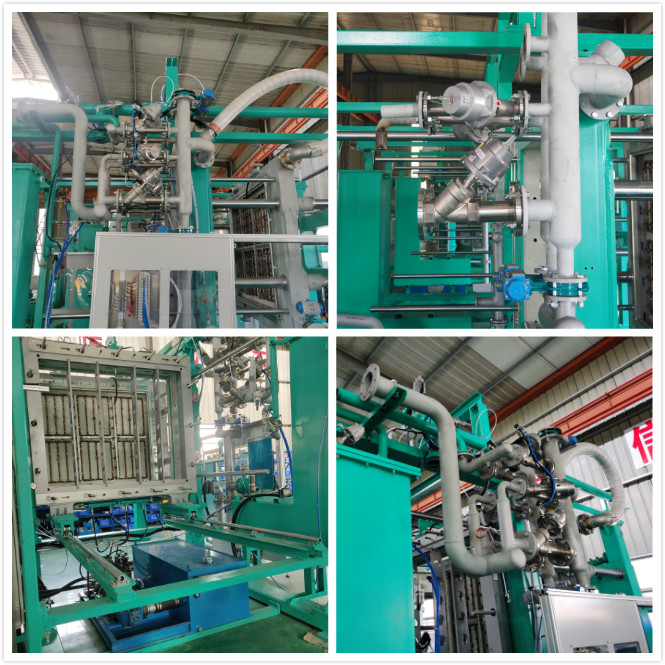 Fully-automatic expanded polypropylene epp foam shape moulding machine for protective packaging box