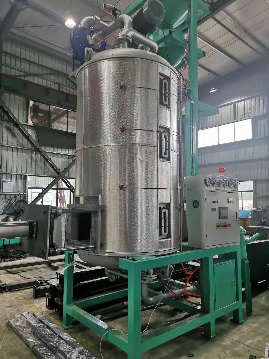 Foaming Machinery Polystyrene Pre-expander Raw Material Beads Filling Equipment For Expansion