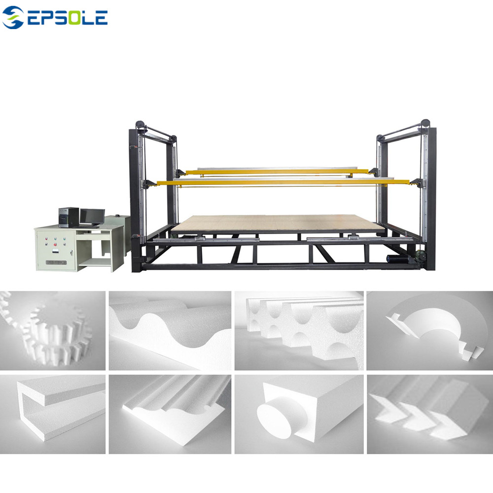 The use of EPS continuous cutting line in villas